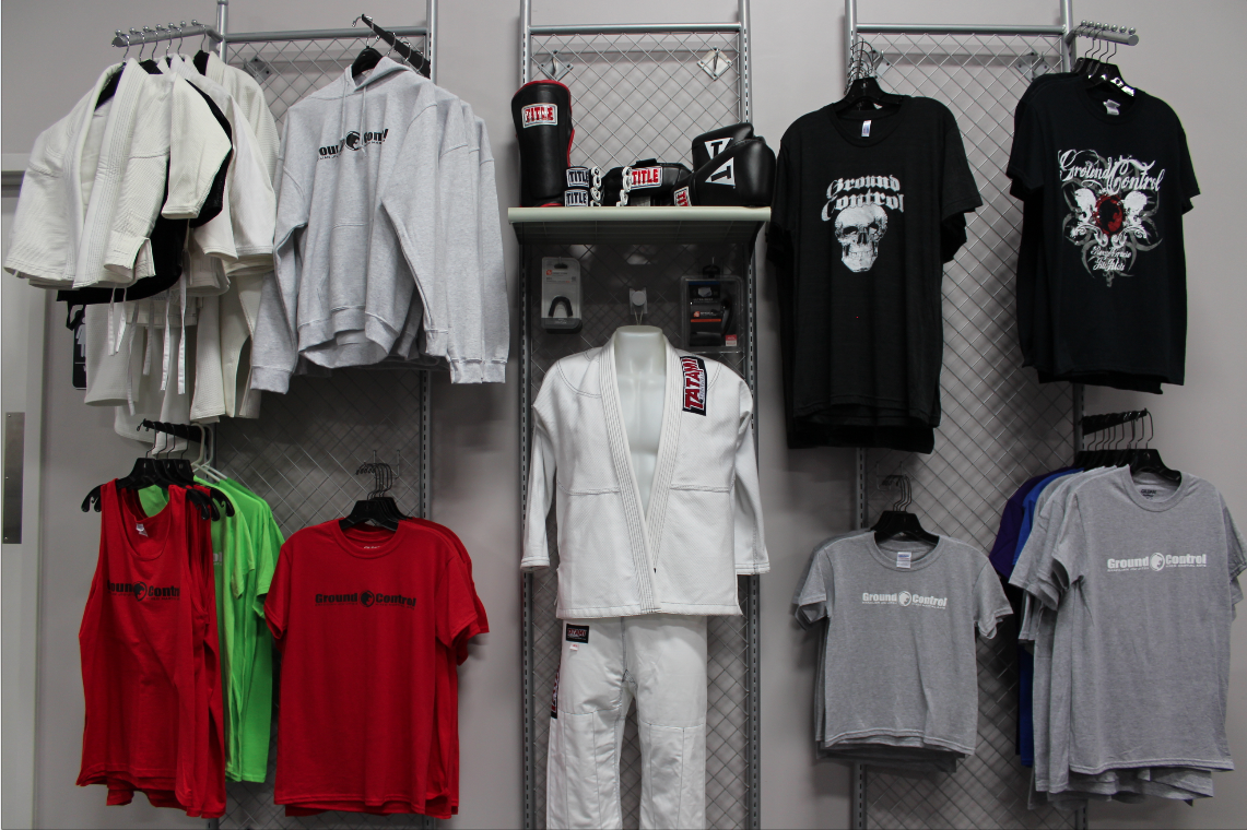Ground Control Columbia Pro Shop with apparel